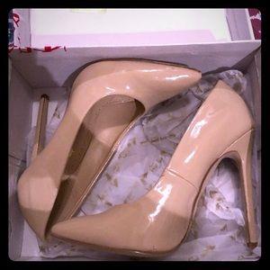 6.5 Nude high heels